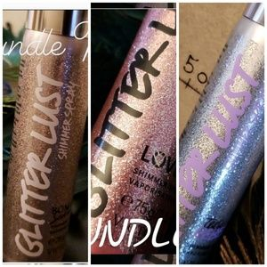 3 Victoria's Secret Glitter lust